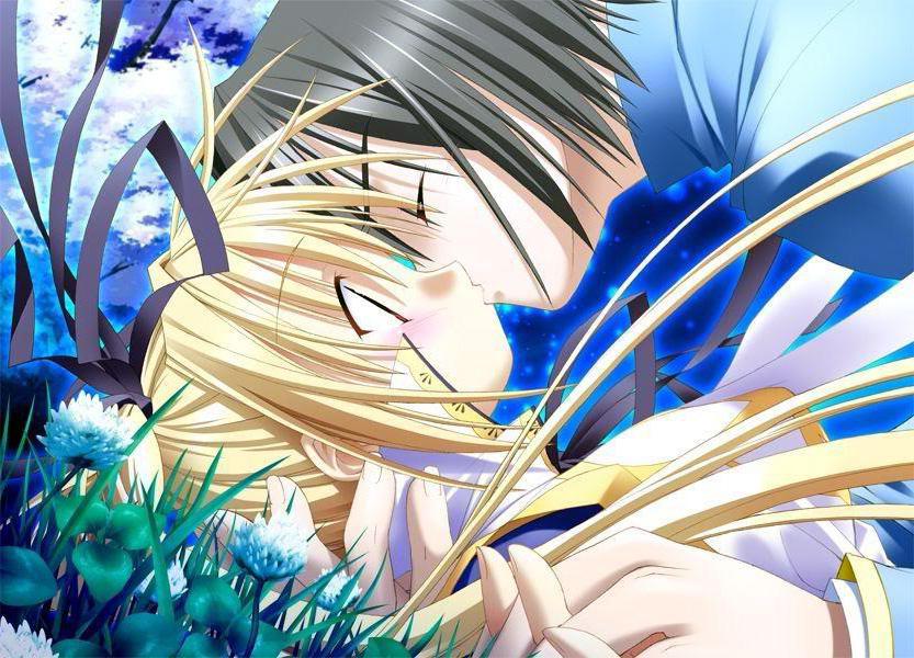 Обои аниме фентези любовь картинки