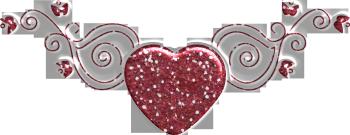 Горизонтальная картинка с сердечком