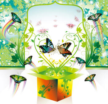 свадьба бабочек