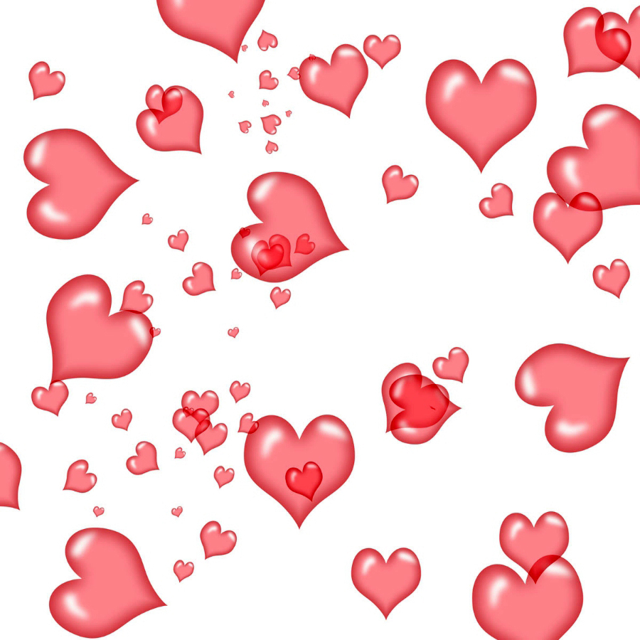 Красивые анимационные картинки гифки на тему Сердечки