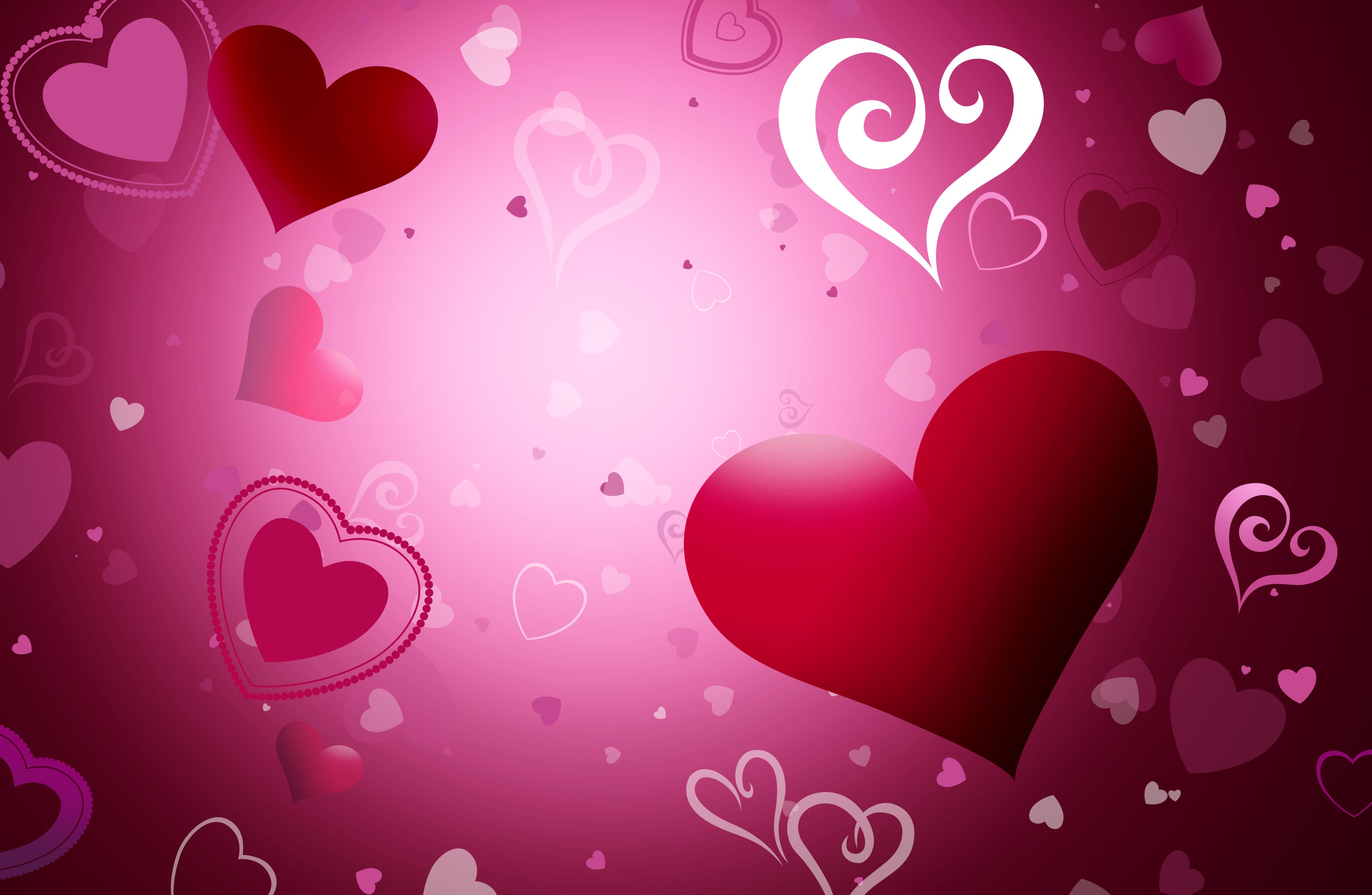 Картинки с сердечками Красивые: Красивые Картинки С Сердечками