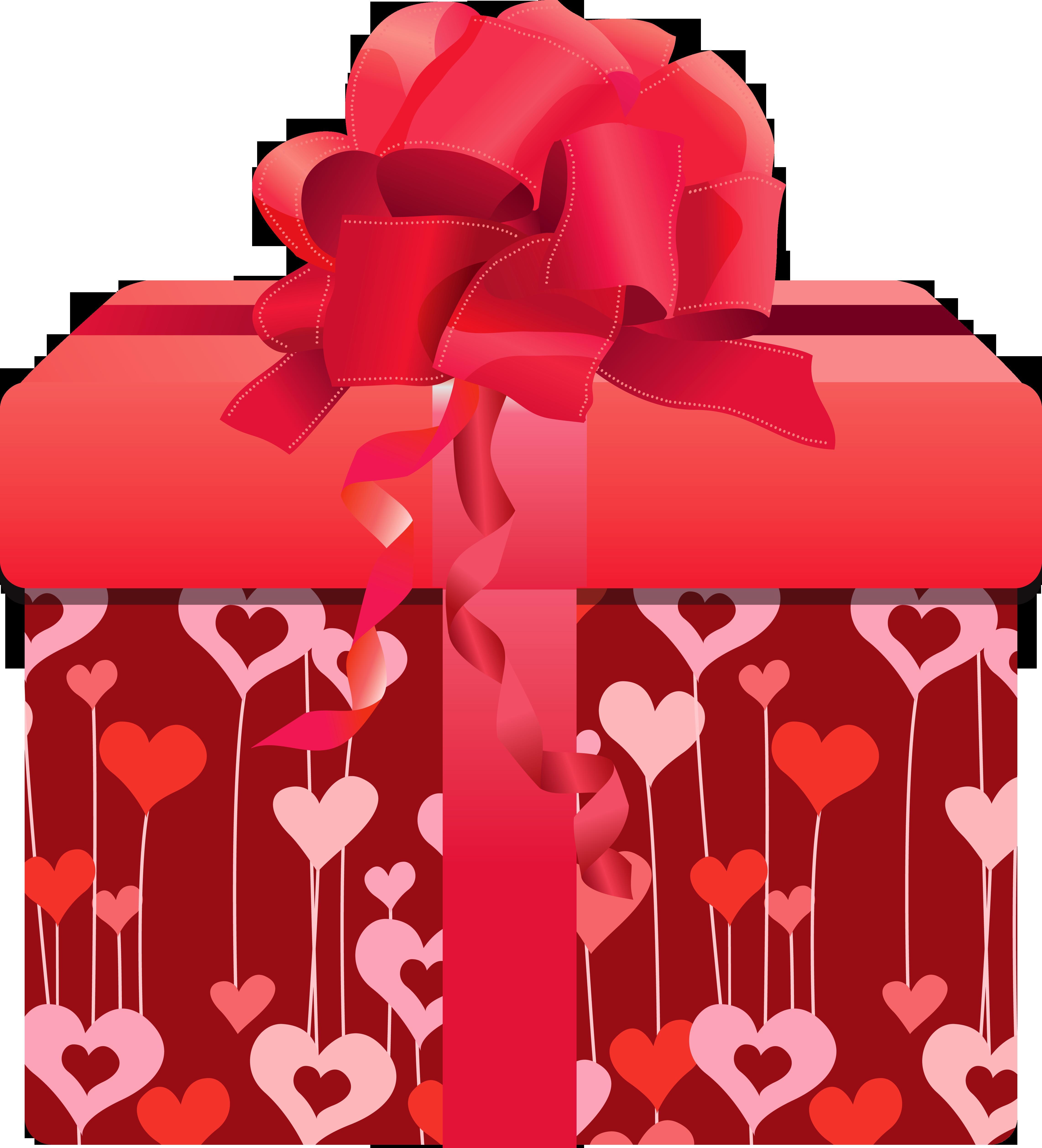 Фото или картинки коробки с подарком