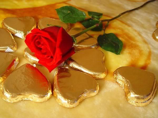 Роза и шоколад
