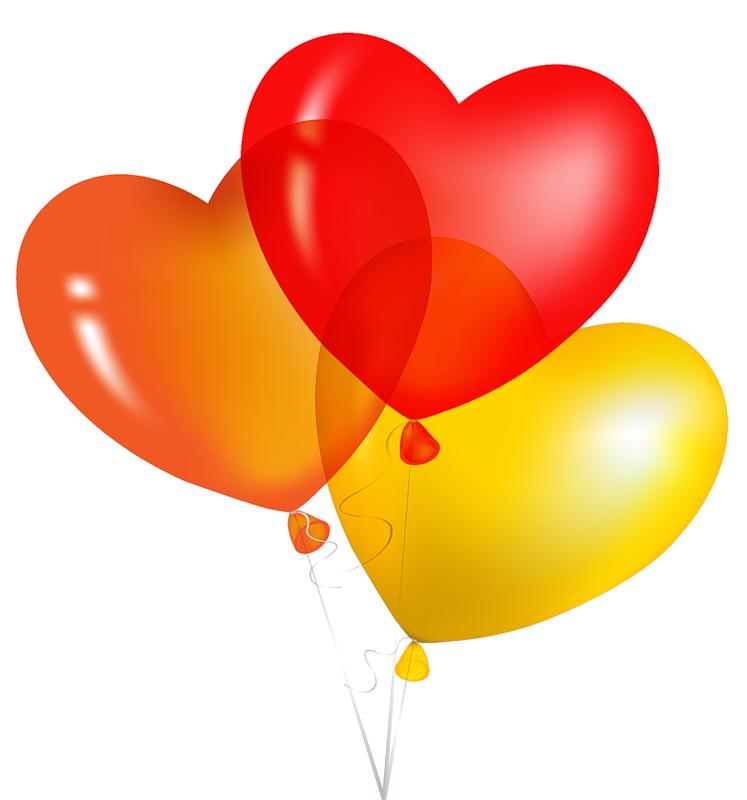 Картинки по запросу картинки-клипарт-сердечки с шариками