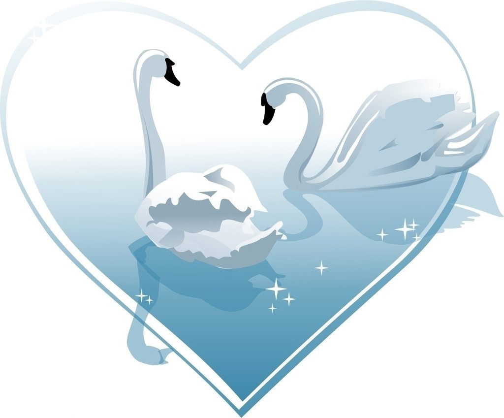 Символ любви и верности рисунок